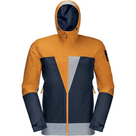 Jack Wolfskin 365 Thunderblaze Jacket Men, blauw/oranje